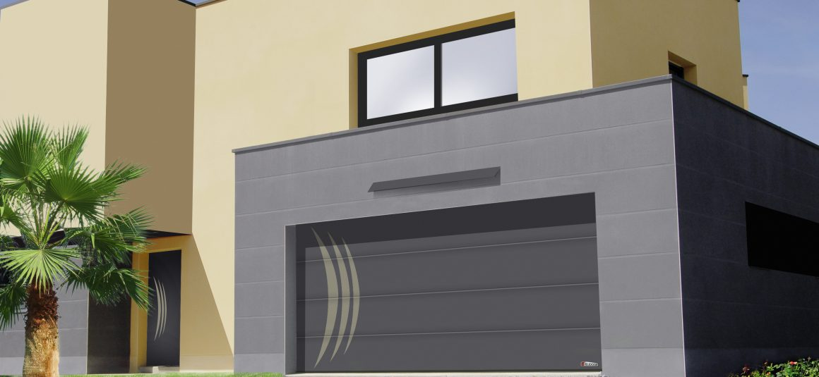 Plafond tendance insert ambre for Porte de garage aludoor